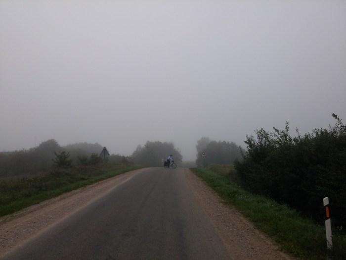 du brouillard au programme