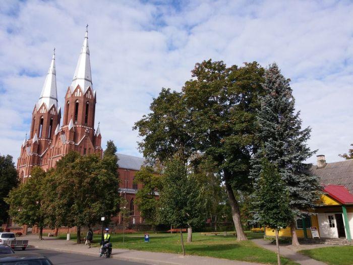 l'Église Saint Matthias d'Anyksciai