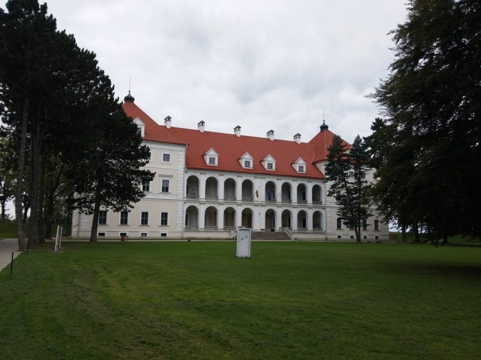 Le château de la citadelle de Birzai