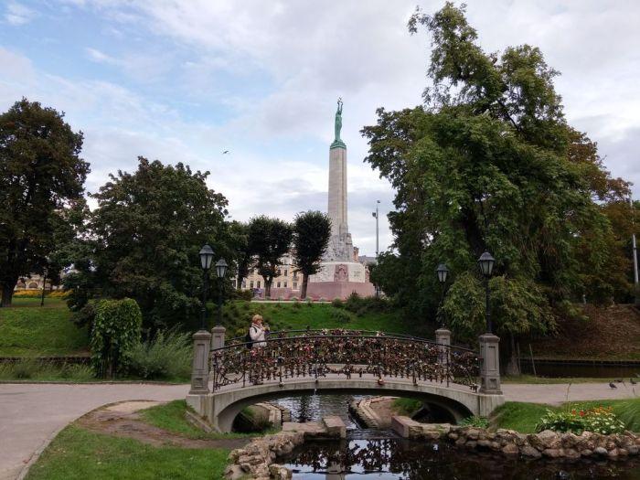 le parc Bastejkalns