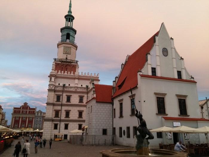 Le centre de poznan