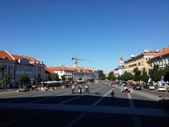 Place de l'hôtel de ville Vilnius