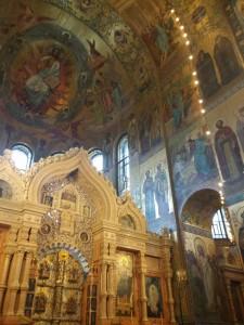Intérieur Cathédrale Saint-Sauveur-sur-le-Sang-Versé