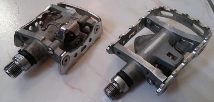 Pédales automatiques mixtes Shimano SPD-M324