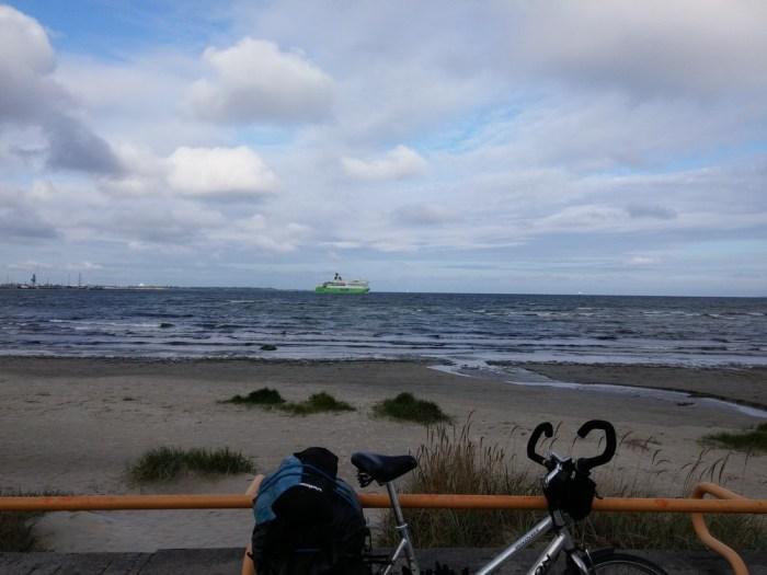 Promenade sur la Baltique en sortant de Tallinn