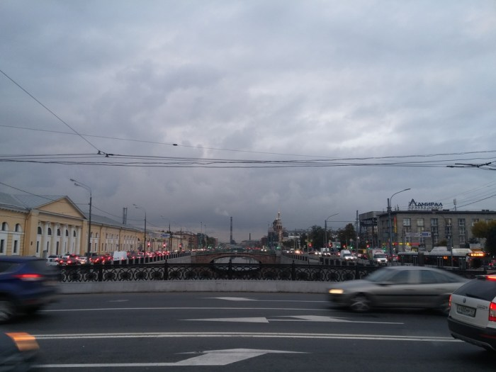 trafic à saint-pétersbourg