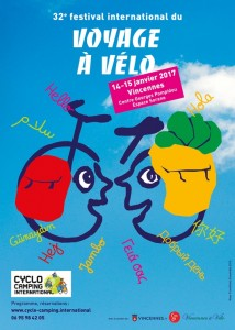 affiche festival international voyage a velo 2017