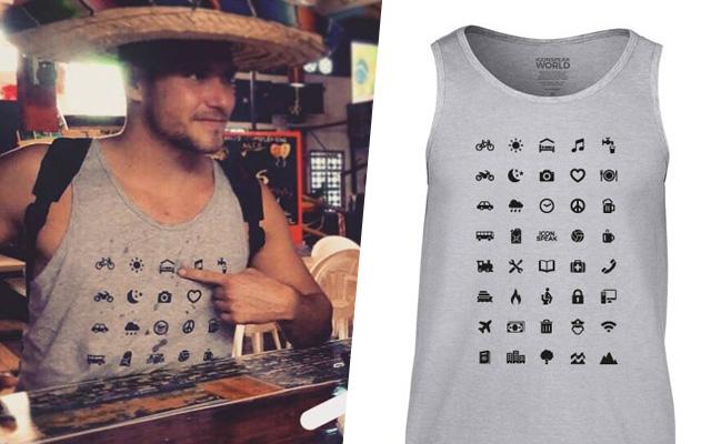T-shirt Iconspeak