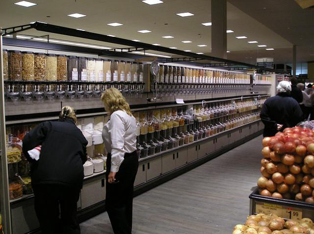 magasin rayon en vrac