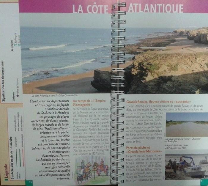 topo guide cote atlantique a velo