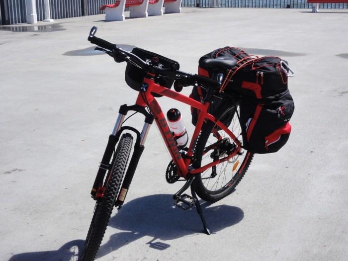 VTT Rockrider 540 en voyage à vélo