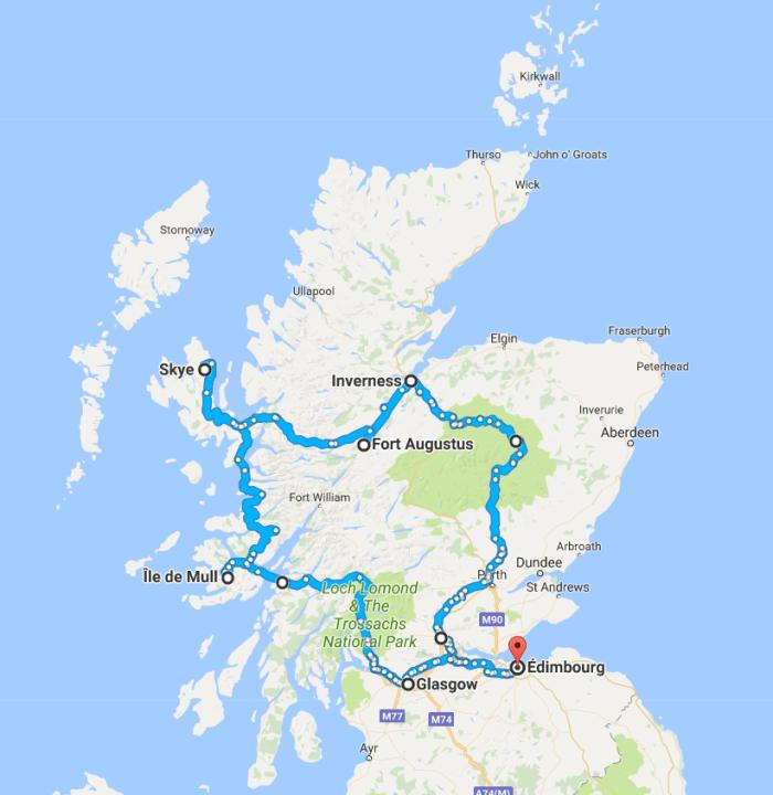 highlands trip en echappee