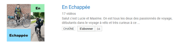 youtube chaine en echappee