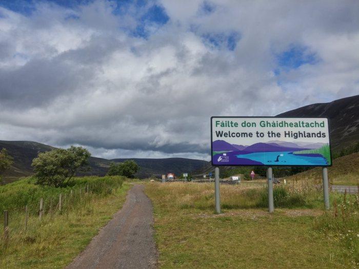 bienvenue dans les highlands
