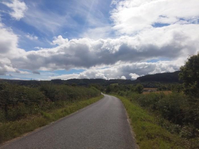 route de campagne ecosse