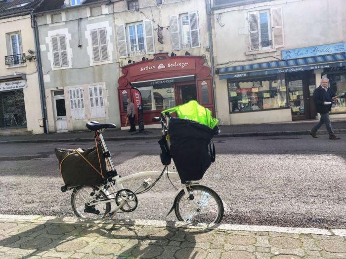 Brompton vélo pliant de voyage
