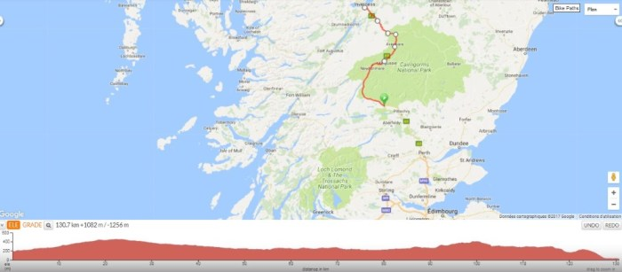 cairngorms inverness voyage velo ecosse 2