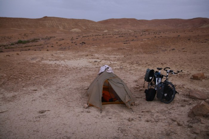 bivouac desert tente Big Agnes