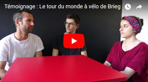 [Vidéo] Brieg nous raconte son tour du monde à vélo avec sa compagne !