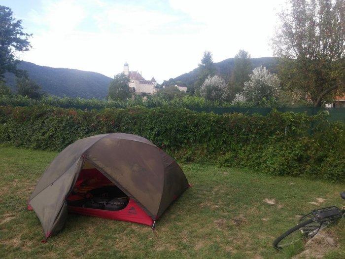 camping autriche danube eurovelo 6