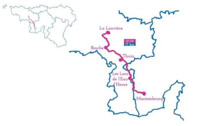 mariembourg la louviere ravel echappee belge 2018