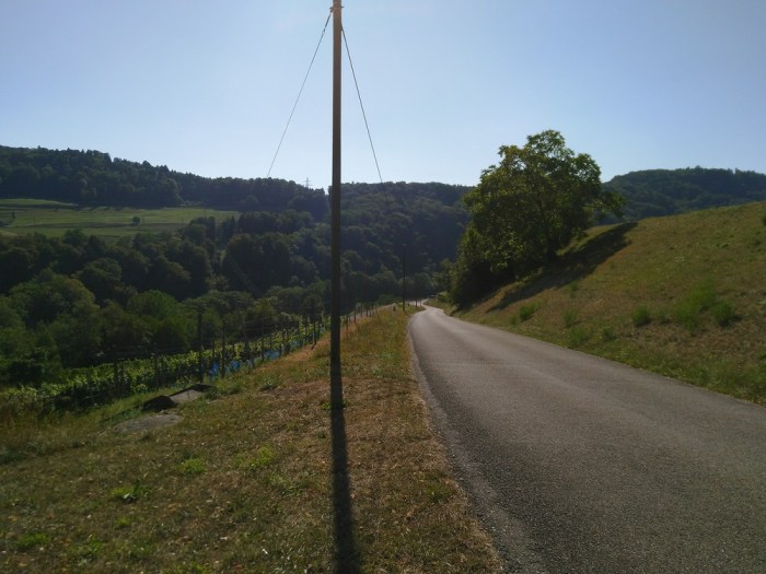 route escarpee suisse