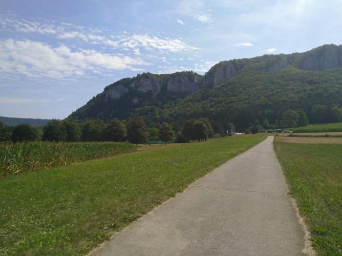vallée du danube sous le soleil