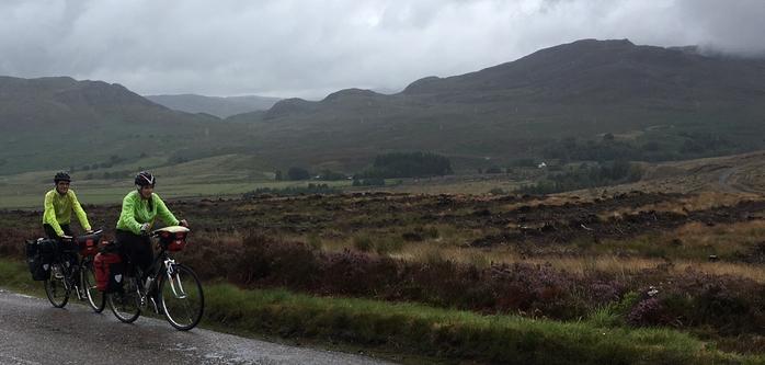 voyage velo ecosse highlands