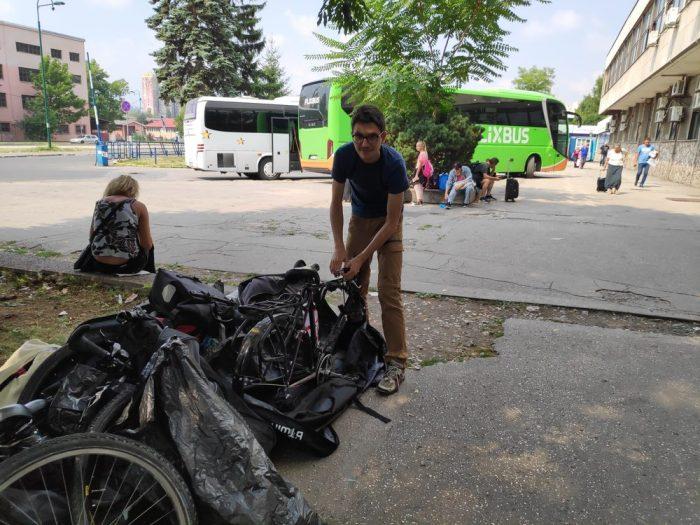 remontage de vélos à sarajevo