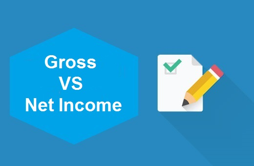 Definition of Gross Vs Net income