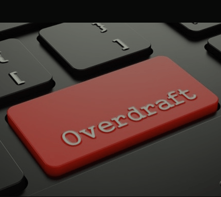 Overdraft Account OR Overdrawn