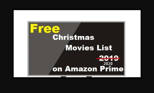 Free Christmas Movies List 2020