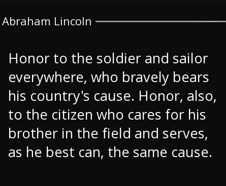 Quotes about veterans by presidents