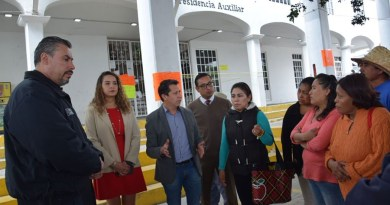 Reabren presidencia auxiliar de Santa Bárbara Almoloya