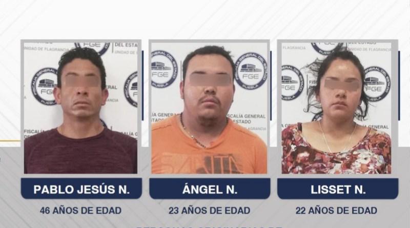 Liberan y reaprehenden a 2 de los 3 detenidos por el homicidio de Huejotzingo