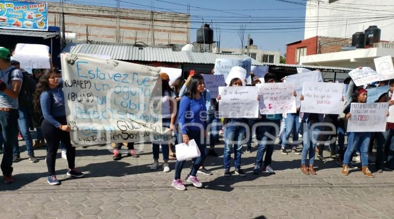 Paro universitario en Puebla gana adeptos; ya suma 15 instituciones