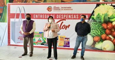 Trasparentará San Andrés Cholula la entrega de despensas