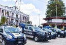 Entregó edil de Coronango 5 nuevas patrullas a Seguridad Pública