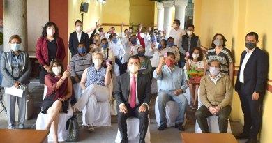Rinden protesta 4 Comités de Participación Ciudadana en Cholula
