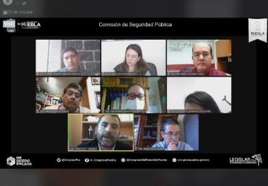 Diputados analizan reformas sobre regulación de la fuerza pública
