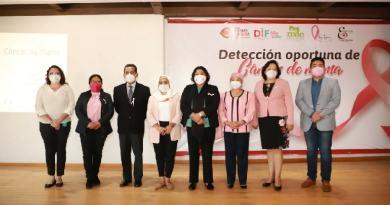 San Andrés Cholula fomenta la prevención y atención temprana del cáncer de mama