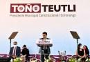 Rinde Antonio Teutli su 2º Informe como alcalde de Coronango