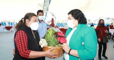 Clausura Karina Pérez Popoca el programa «Comer con Responsabilidad»
