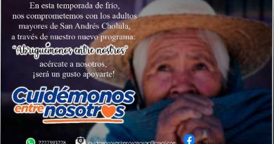 Lanza Oscar Ramírez iniciativa «Abriguémonos entre nosotros»