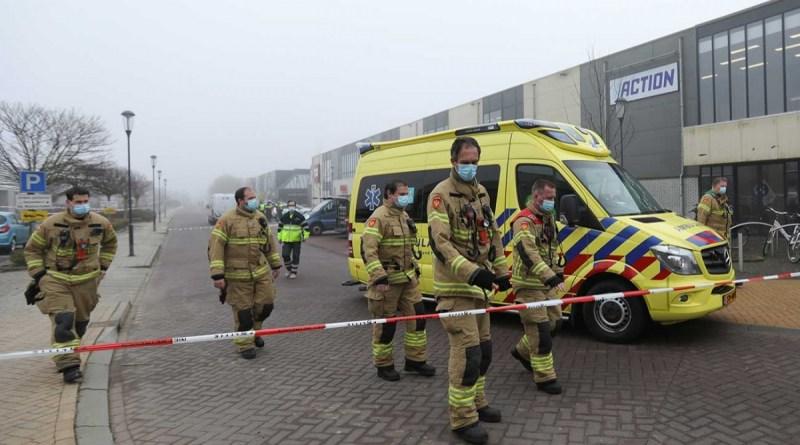 Atacan centro COVID en Países Bajos