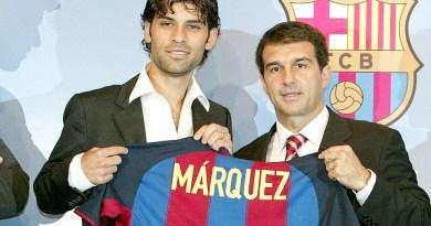 Se acerca el regreso de Rafa Márquez al Barcelona