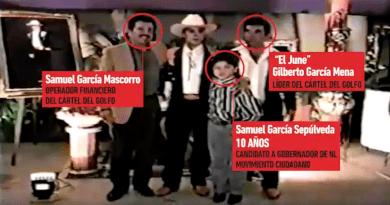 Difunden video de Samuel García con líder del Cartel del Golfo