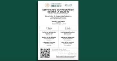 Mazatlán exigirá certificado de vacunación en establecimientos