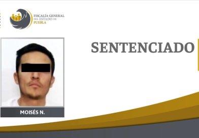Hombre es sentenciado a 23 años de cárcel por homicidio en Puebla