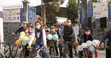 Trabajaremos para generar infraestructura más segura para los ciclistas: Mundo Tlatehui